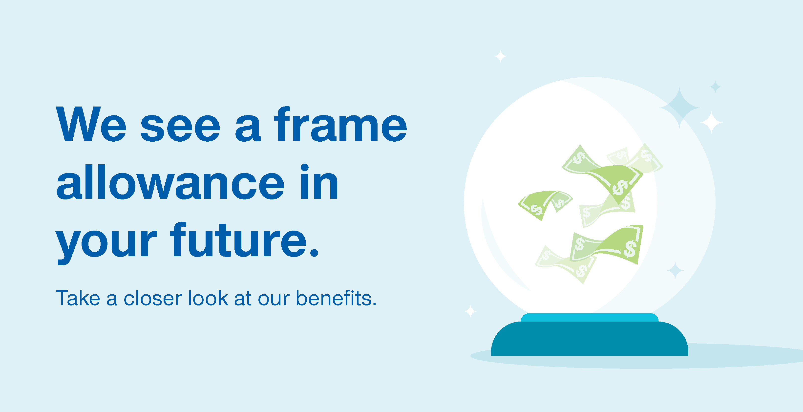 We see a frame allowance in your future
